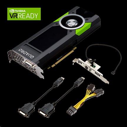NVIDIA Quadro P5000 16GB GDDR5/256bit, 4x DP, 1x DVI-D
