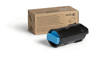 Genuine Xerox Cyan Standard Capacity Toner Cartridge For The VersaLink C600/C605 (6,000 PAGES)