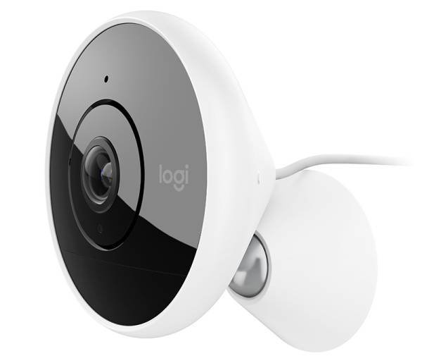 Logitech® Circle 2 Wired indoor/outdoor security camera - WHITE - EMEA