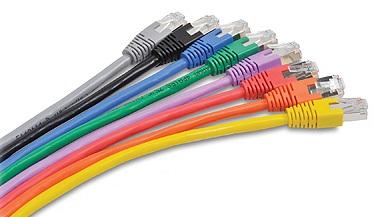 CNS patch kábel Cat6A, S-STP, LSOH - 1m , oranžový