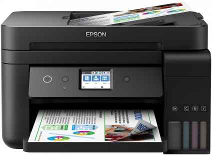 Epson L6190, A4, color All-in- One, Fax, ADF, USB, LAN, WiFi, iPrint, duplex + ESET Internet Security