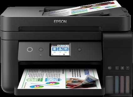 Epson L6190, A4, color All-in- One, Fax, ADF, USB, LAN, WiFi, iPrint, duplex + 200ks fotopapier 10x15
