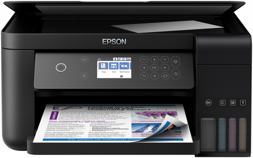 Epson L6160, A4, color All-in- One, USB, LAN, WiFi, iPrint, duplex + 200ks fotopapier 10x15