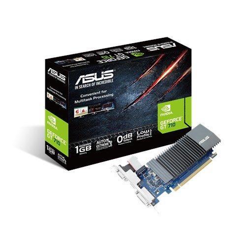 ASUS GT710-SL-1GD5-BRK, 1GB/32bit, GDDR5, D-Sub, DVI, HDMI, LP