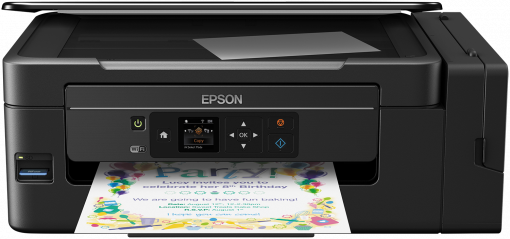 Epson L3070, A4 color All-in-One, USB, WiFi, iPrint + ESET Mobile Security pre Android