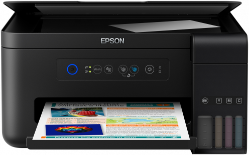 Epson L4150, A4 color All-in-One, USB, WiFi, WiFi Direct, iPrint + 100ks fotopapier 10x15