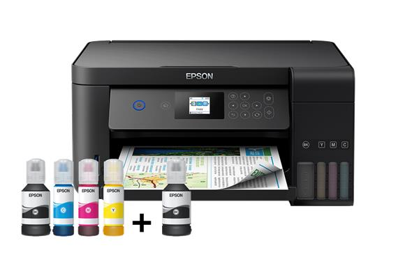 Epson L4160, A4 color All-in-One, USB, WiFi, WiFi Direct, iPrint, duplex + ESET Parental Control pre Android NFR