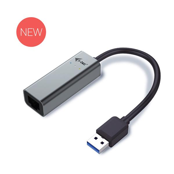 i-tec USB 3.0 Metal Gigabit Ethernet Adapter