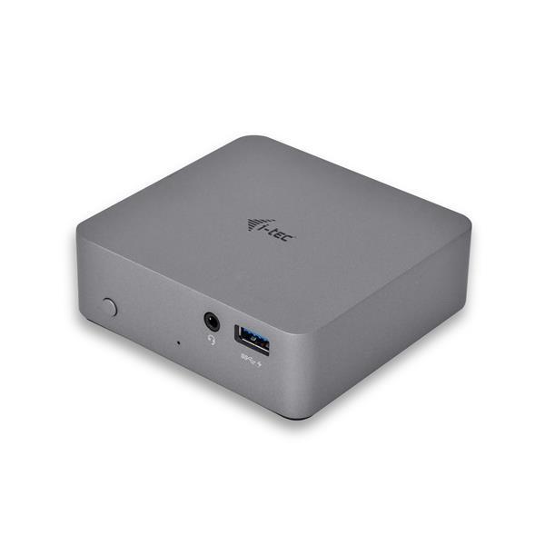 i-tec USB-C Metal 4 K dockovacia stanica, Video 1x HDMI, 1x GLAN, 4x USB 3.0