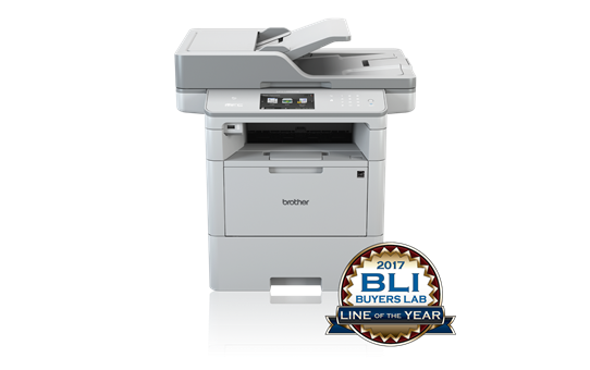 BROTHER MFC-L6800DW A4 mono laser MFP, Fax, GLAN, WiFi, NFC, ADF, duplex + mikina Panorama