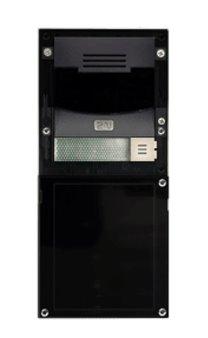 2N Helios IP Verso základní jednotka (bez kamery) - černá