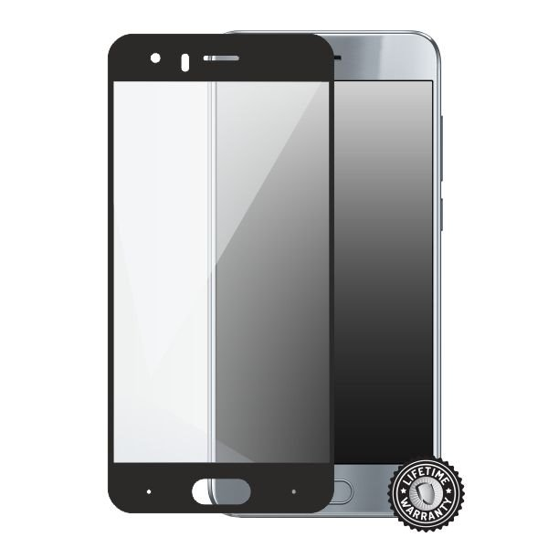 Screenshield HUAWEI Honor 9 Tempered Glass protection (full COVER black) - Film for display protection