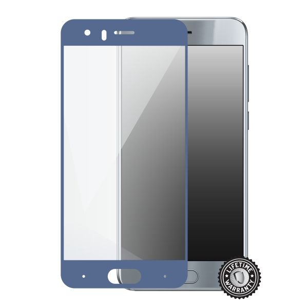 Screenshield HUAWEI Honor 9 Tempered Glass protection (full COVER blue) - Film for display protection