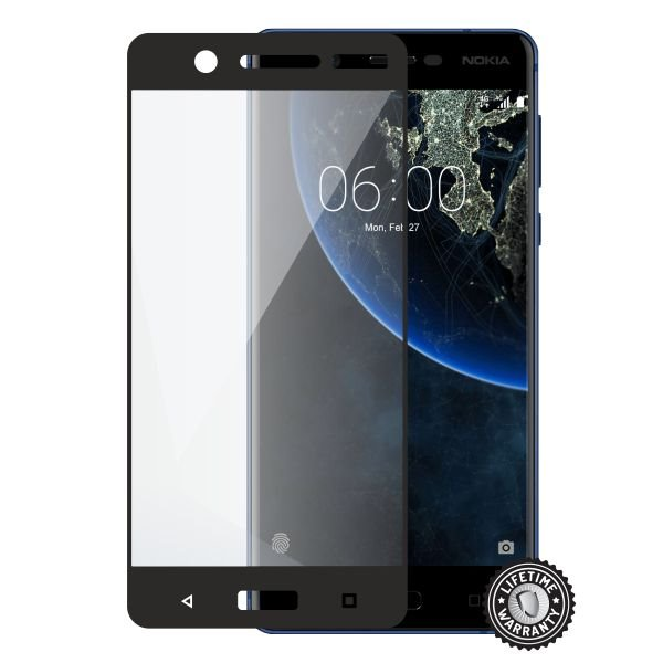 Screenshield NOKIA 5 (2017) Tempered Glass protection (full COVER black) - Film for display protection