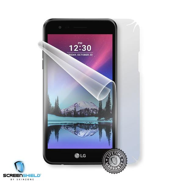 Screenshield LG M160 K4 (2017) - Film for display + body protection