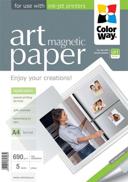 ColorWay Fotopapier ART Lesklý