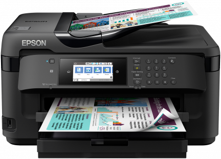 Epson WorkForce WF-7710DWF A3, All-in-One, LAN, duplex, ADF, Fax, WiFi, NFC