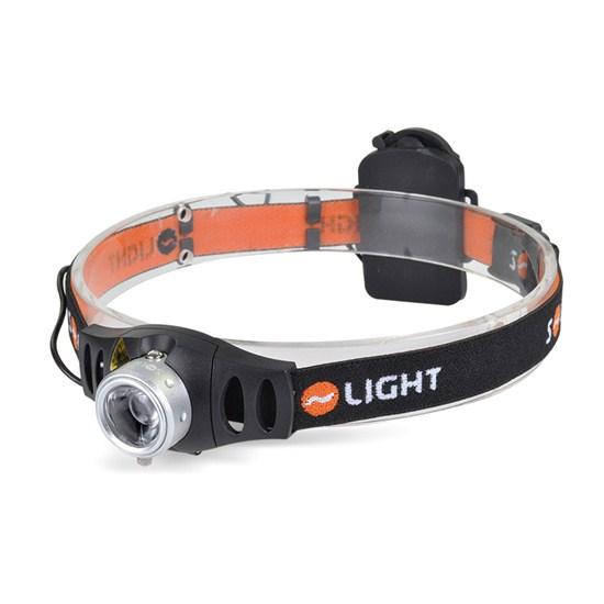 Solight LED stmievateľné čelové svietidlo, 3W Cree, 140lm, fokus, 3x AAA