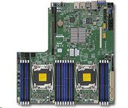 Supermicro 2xLGA2011-3, iC612 16x DDR4 ECC,10xSATA3,(PCI-E 3.0/1,1(Lx24,Px8,AOMx8),2x LAN,IPMI