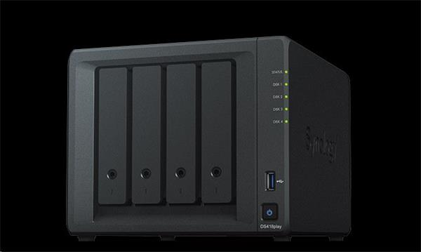 Synology™ DiskStation DS418play 4x HDD NAS