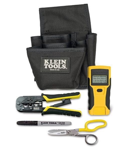 KLEIN TOOLS LAN Installer Starter Kit Modular - LAN Scout Junior + náradie