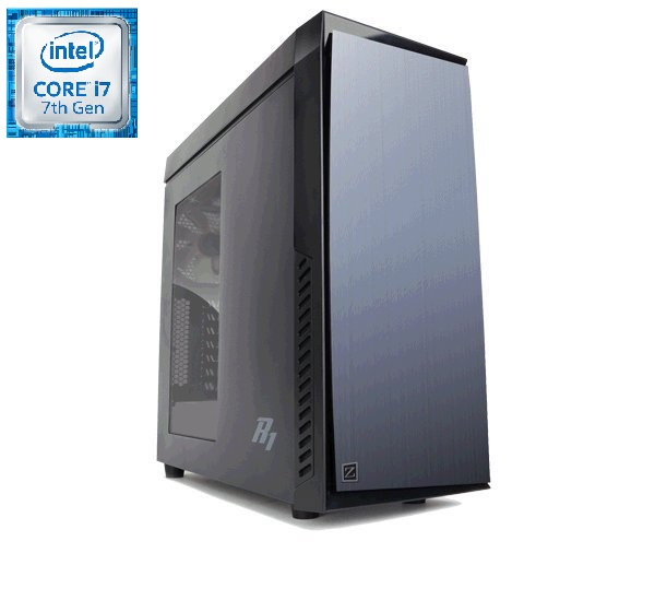 Prestigio Xtreme i7-7700K (4,2G) RX580 16GB DDR4 2TB+250GB SSD DVDRW HDMI DP USB3 KLV+MYS bez OS