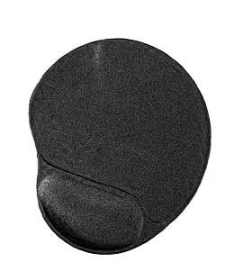 Podložka pod myš ERGO gelová čierna