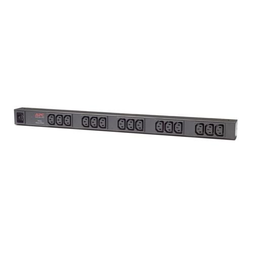 Rack PDU, Basic, Zero U, 16A, 208/230V, (15) C13, IEC-320 C20