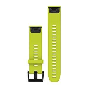 Silikonový remienok QuickFit™ 22 na zápästie pre fénix 5 a Forerunner 935 - žltý (ND)