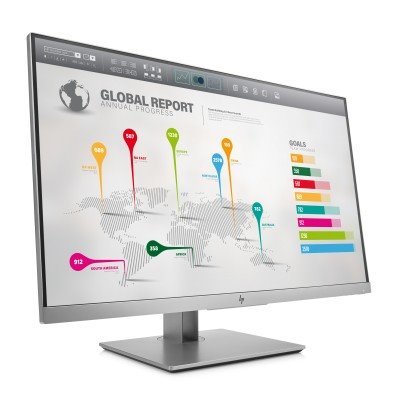HP EliteDisplay E273q, 27.0 IPS, 2560x1440, 1000:1, 5ms, 350cd, VGA/DP/HDMI/USB-C, 3y, pivot