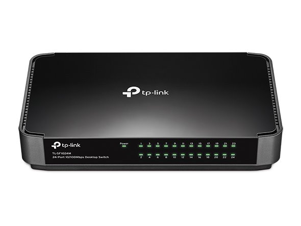 TP-LINK TL-SF1024M 24 x 10/100 Mbs switch Fanless