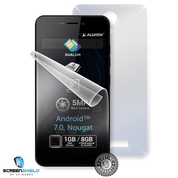 Screenshield ALLVIEW A8 Lite - Film for display + body protection