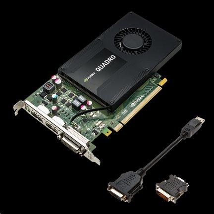 PNY NVIDIA Quadro K2200 GDDR5 4GB/128bit, DVI-D, 2xDP, Retail