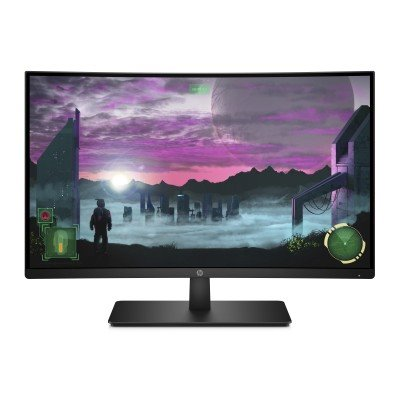 HP 27x Curved, 27.0 VA, 1920x1080, 3000:1, 5ms, 300cd, HDMI/DP, 2y