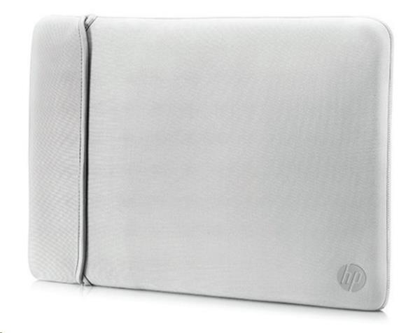 Puzdro reversible sleeve - silver + black (14,0