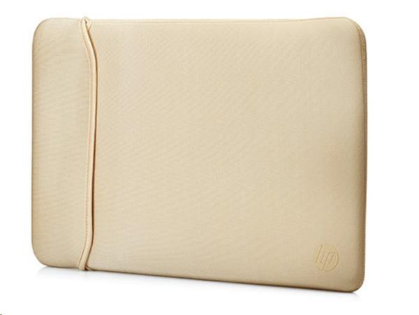 "HP 15.6"" Reversible Sleeve – Black/Gold"