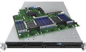 Intel® 1U Server platforma 1U LGA 2x 3467, C624, 24x DDR4 4x HDD 3.5 HS 2x RSC ,(PCI-E 3.0 x16) 2x 10GbE/IPMI 1x1100W