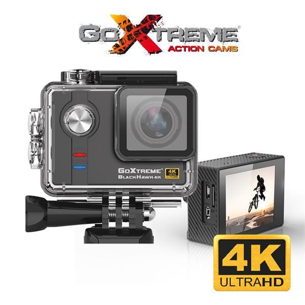 GoXtreme Black Hawk 4K Ultra HD športová kamera, Real 4K@30fps, 12.4MP sensor, 2.0