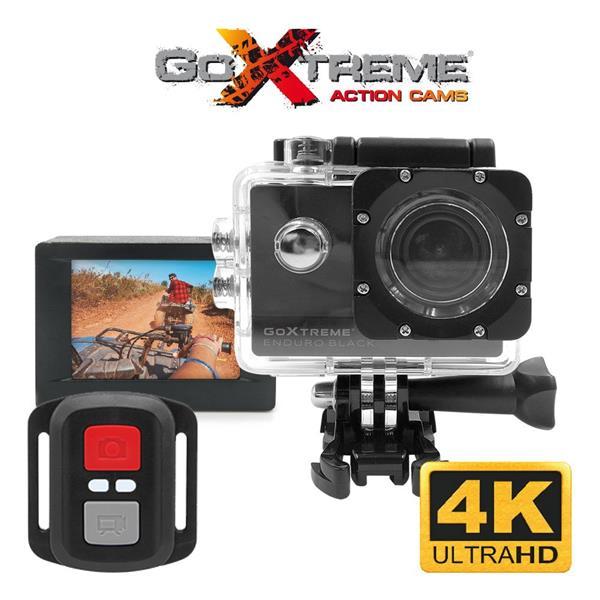 GoXtreme Enduro Black športová akčná kamera, 2.7K@30fps, 8MP sensor,, 2.0