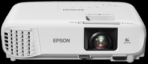 Epson projektor EB-W39, 3LCD, WXGA, 3500ANSI, 15000:1, HDMI, LAN