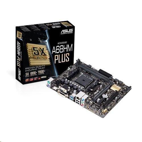 ASUS A68HM-PLUS soc.FM2+ A68 DDR3 mATX 1xPCIe RAID iG GL USB3.0 HDMI DVI D-Sub