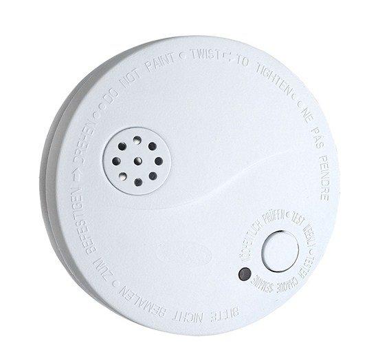 Solight detektor dymu + alarm, 85dB, biely + 9V batéria