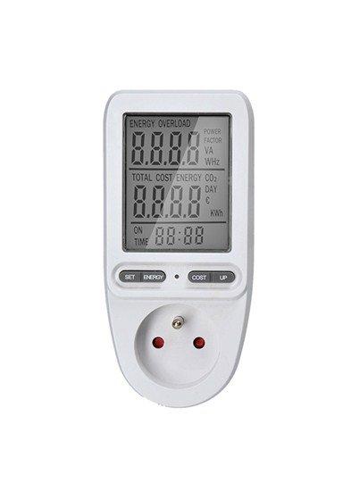 Solight digitálny merač spotreby el. energie, veľký displej