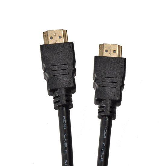 Solight HDMI kábel s Ethernetom, HDMI 1.4 A konektor - HDMI 1.4 A konektor, blister, 1m