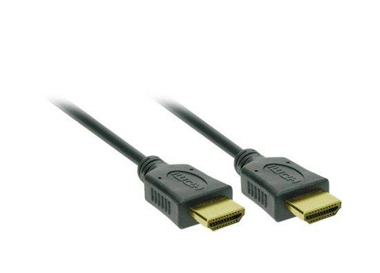 Solight HDMI kábel s Ethernetom, HDMI 1.4 A konektor - HDMI 1.4 A konektor, blister, 5m