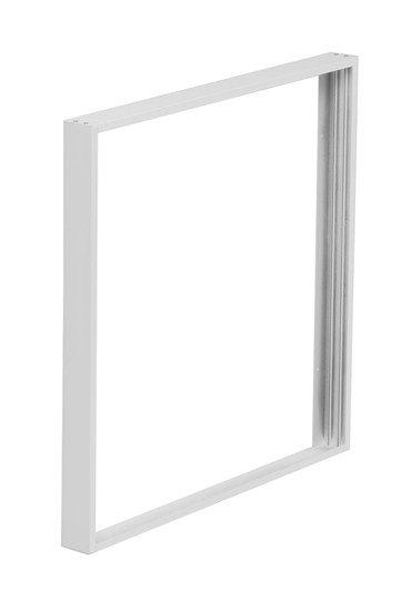 Solight hliníkový rám pre inštaláciu LED panelov s rozmerom 595x595mm na stropy a steny