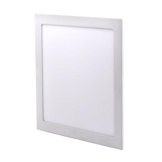 Solight LED mini panel, podhľadový, 24W, 1800lm, 3000K, tenký, štvorcový, biely