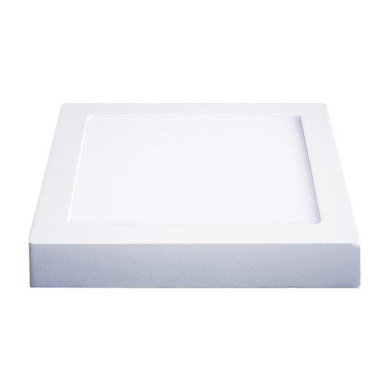 Solight LED panel prisazený, 24W, 1800lm, 4000K, štvorcový, biely