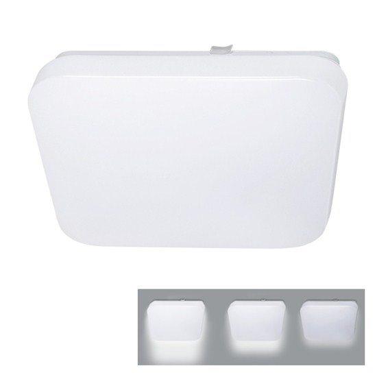 Solight LED stropní svietidlo, 3-stupňové stmievanie, 18W, 1260lm, 4000K, štvorcové, 33cm