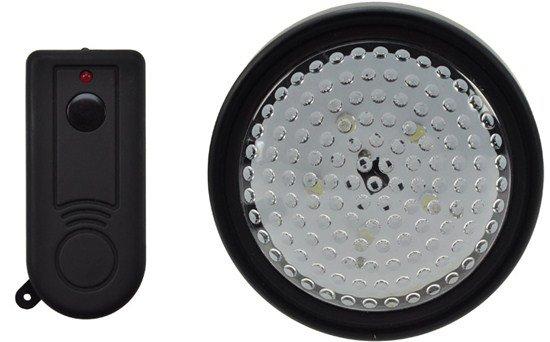 Solight LED svetielko s diaľkovým ovládaním, 5 LED, 3x AA batérie